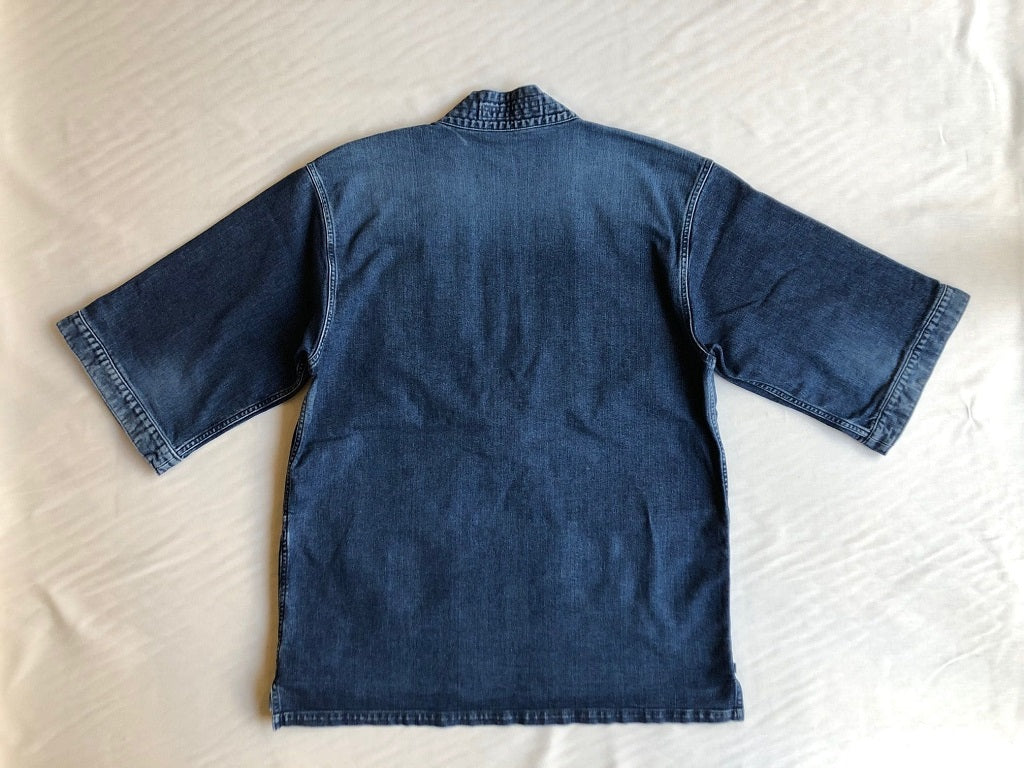 TraditionalKimonoDenimJacket back