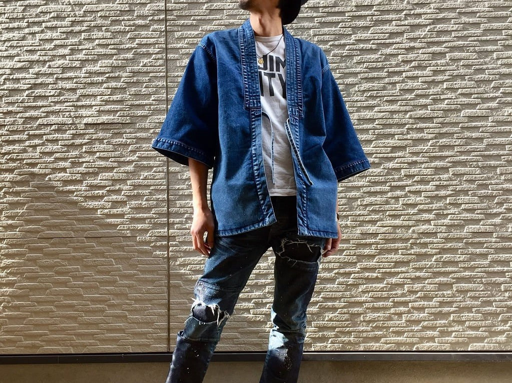 TraditionalKimonoDenimJacket