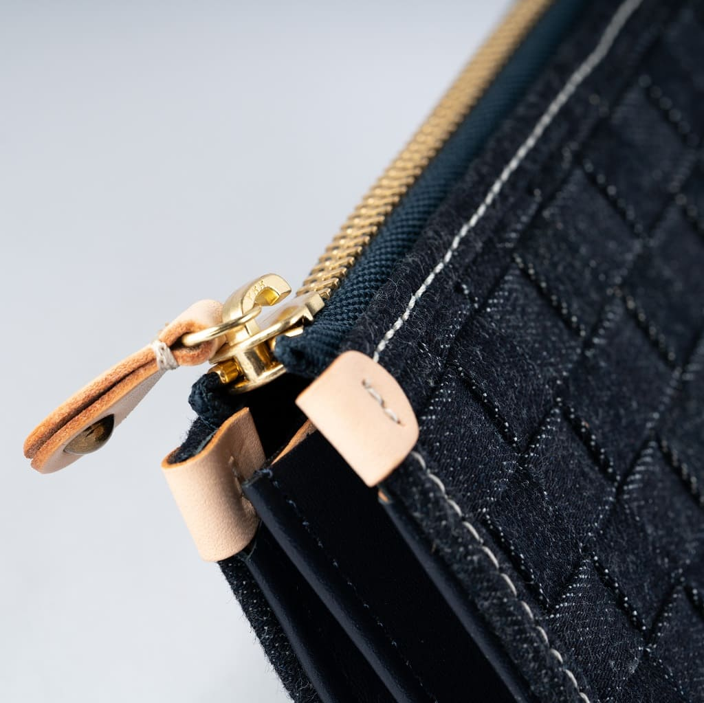 Japan Blue Denim Wallet