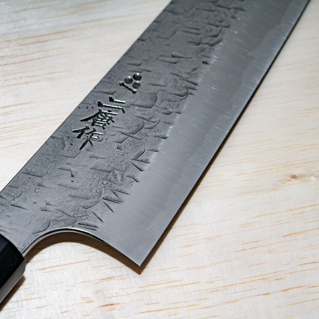 Hammer Finish Gyuto(Chef's) Knife:180 mm