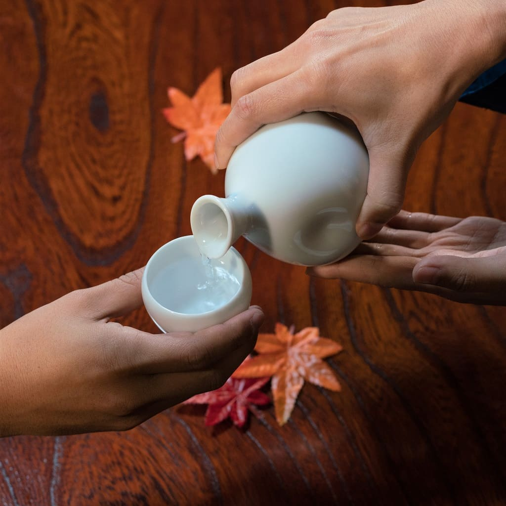 Sake Bottle & Cups Set