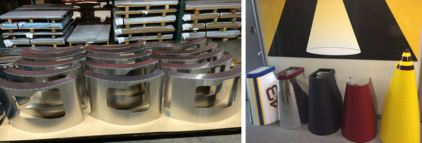 AEI Fabrication's fabricated all-aluminum cowlings for Vintage Kart Company's Vintage Mini Racers