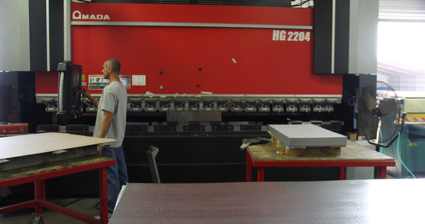Amada 247-Ton Press Brake for Bending Forming Fabrication Processes