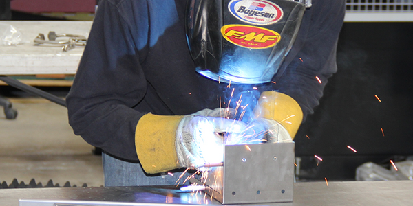 AEI Fabrication Welding Services include TIG and MIG welding with Amada and Miller welding stations and some of the best welding technicians in the fabrication business.