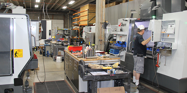 AEI Fabrication Machining Centers featuring Mazak and Haas Automation turning and machining centers