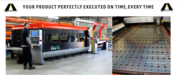 The AEI Laser Cutting System Can Cut Most Metal Alloys Up To 1.5 Inches Thick