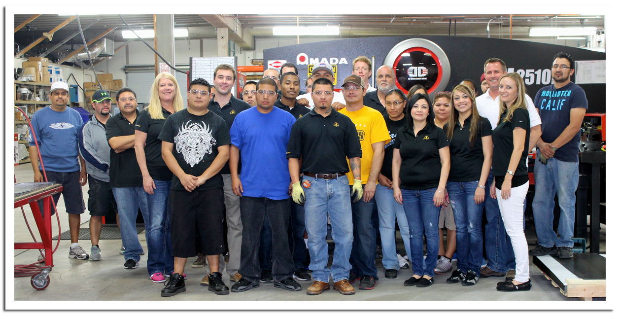 AEI Lighting's talented group of fabricators, lighting experts and managers