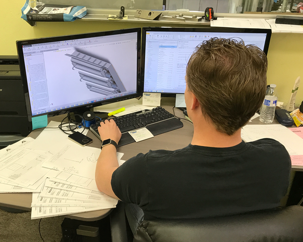 AEI Fabrication's Design & Engineering Department Provides Detailed 'Hands-On' Acumen For Original Designs or to add to Your Design