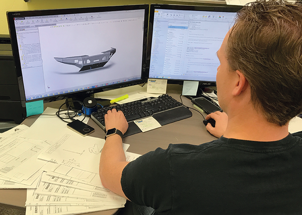 AEI Fabrication features a full CAD Design & Engineering department.