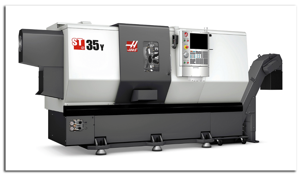 AEI Fab Turning Center - HAAS ST-35 High-Performance CNC Lathe / Turning Center