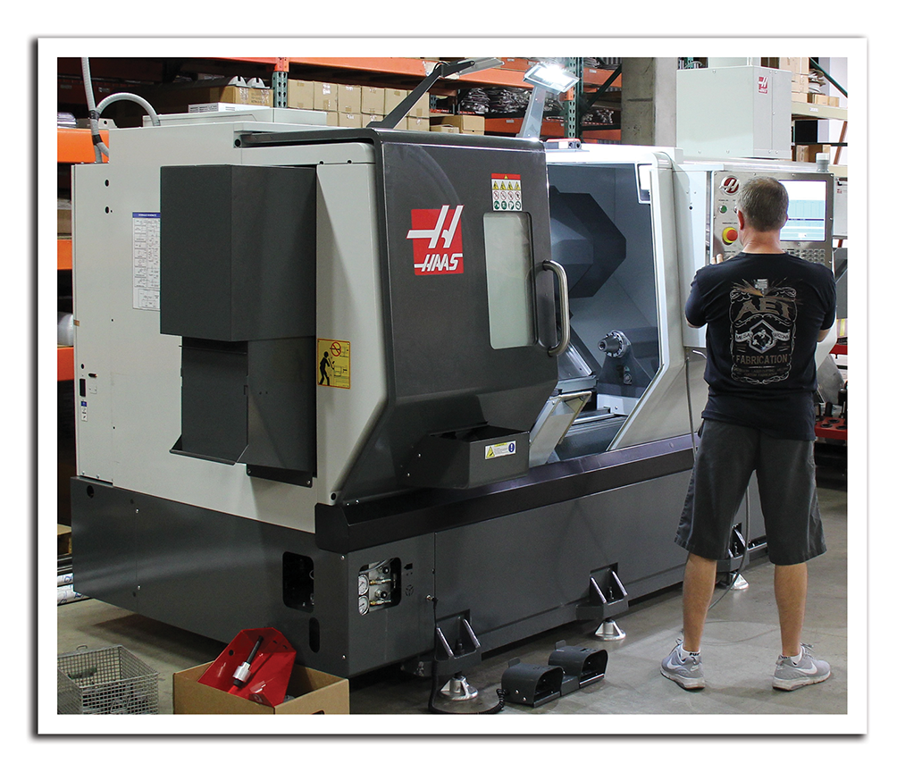 AEI Fabricaton's Haas Turning Center / Lathe