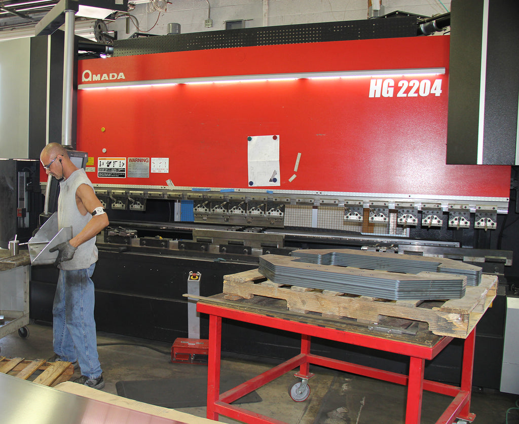 AEI Fabrication HG2204 250-Ton Press Brake