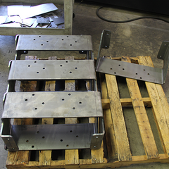 AEI Fabrication fabricates half-inch parts for trucking and transport