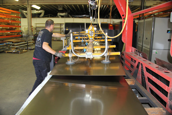 AEI Fabrication's Amada laser cutting system