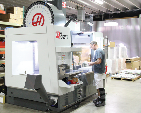 AEI's Haas Vertical Machining Center