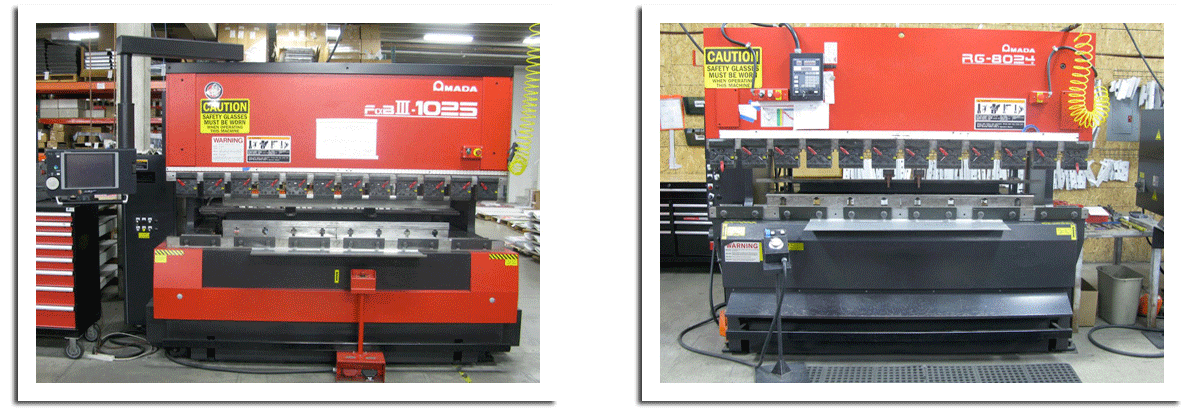 AEI Fabrication Offers Bending & Forming for Metal, Sheet Metal, Aluminum and Metal Alloys with AMADA Press Brakes
