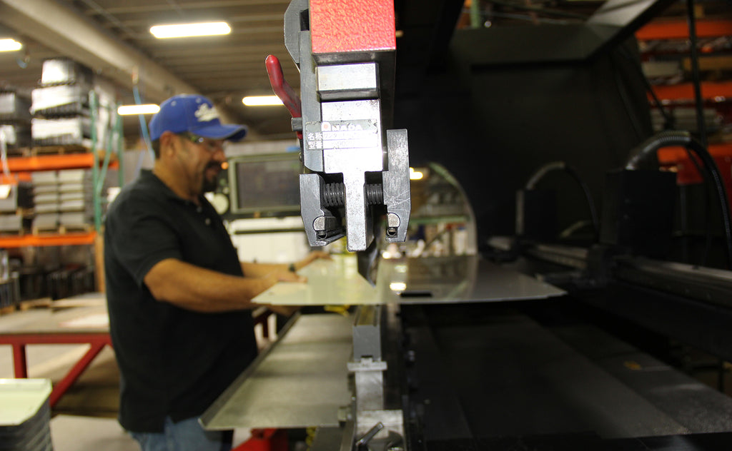 AEI Fabrication's suite of Amada Press Brakes