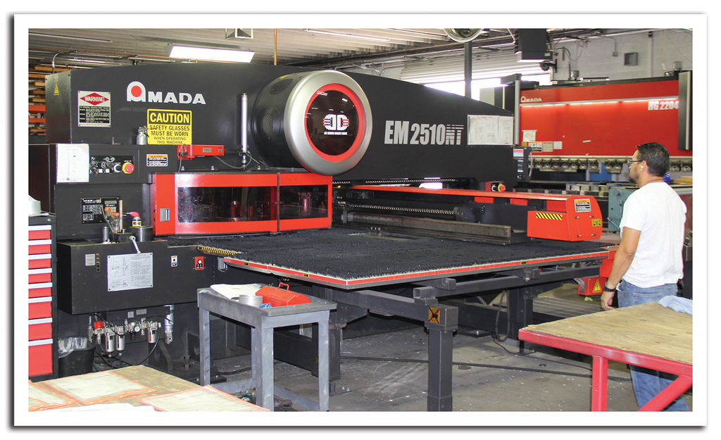 AEI Fabrication's Amada Turret Punching System