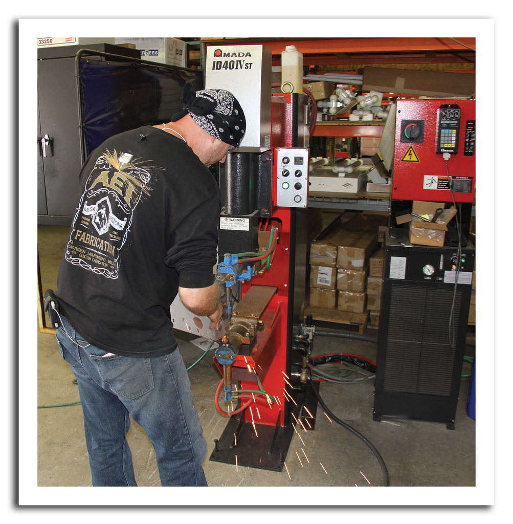 AEI Fabrication Welding Stations
