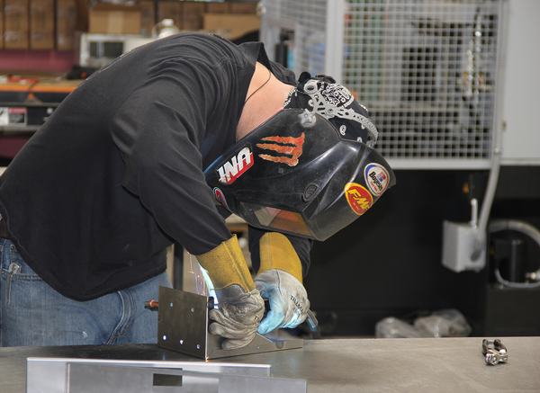 AEI Fabrication's welding stations offer precision welding for many projects and detailed weldments