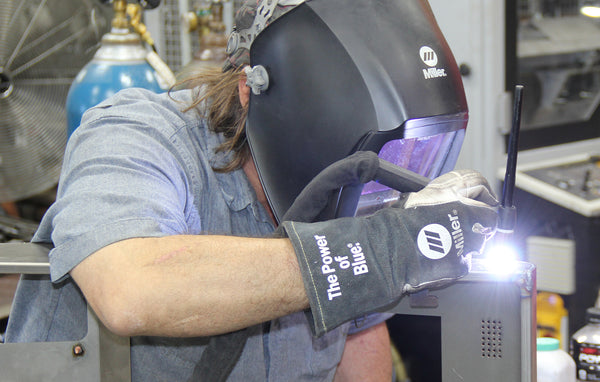 AEI Fabrication has a large MIG & TIG Welding Department