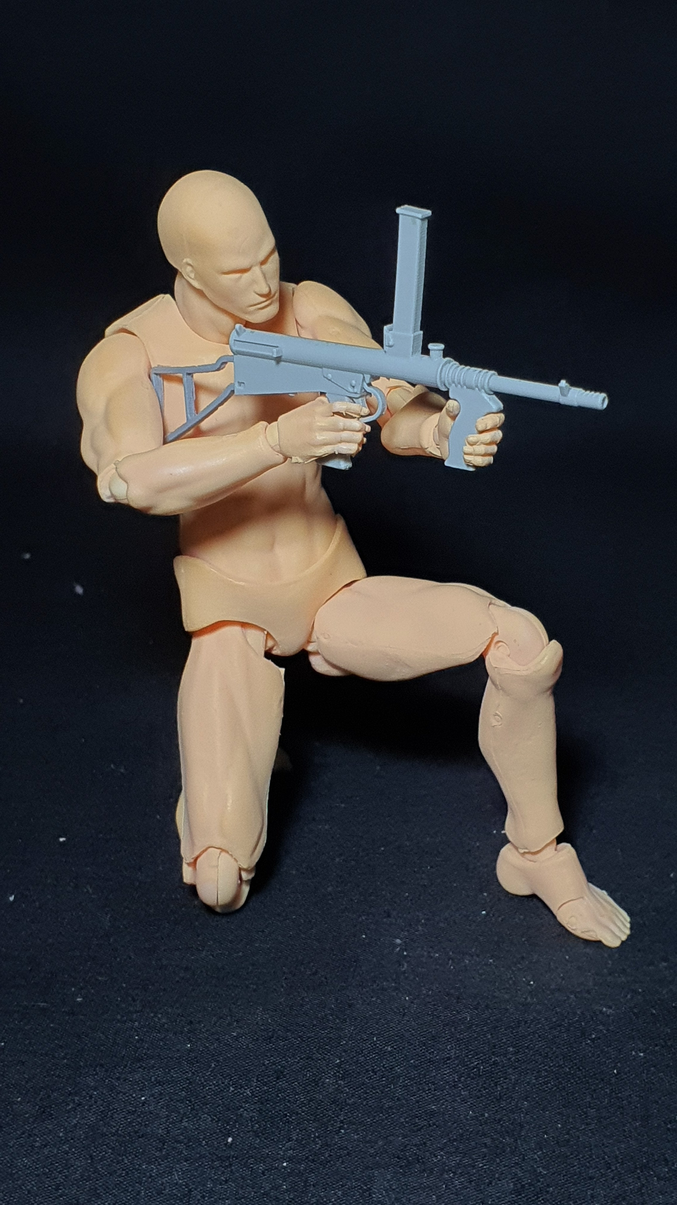 1/12 scale OWEN Sub-machine gun