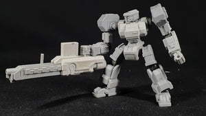 "1/100 scale EISENFRONT ""R.M-02 HORNET"" War-mech resin model kit"