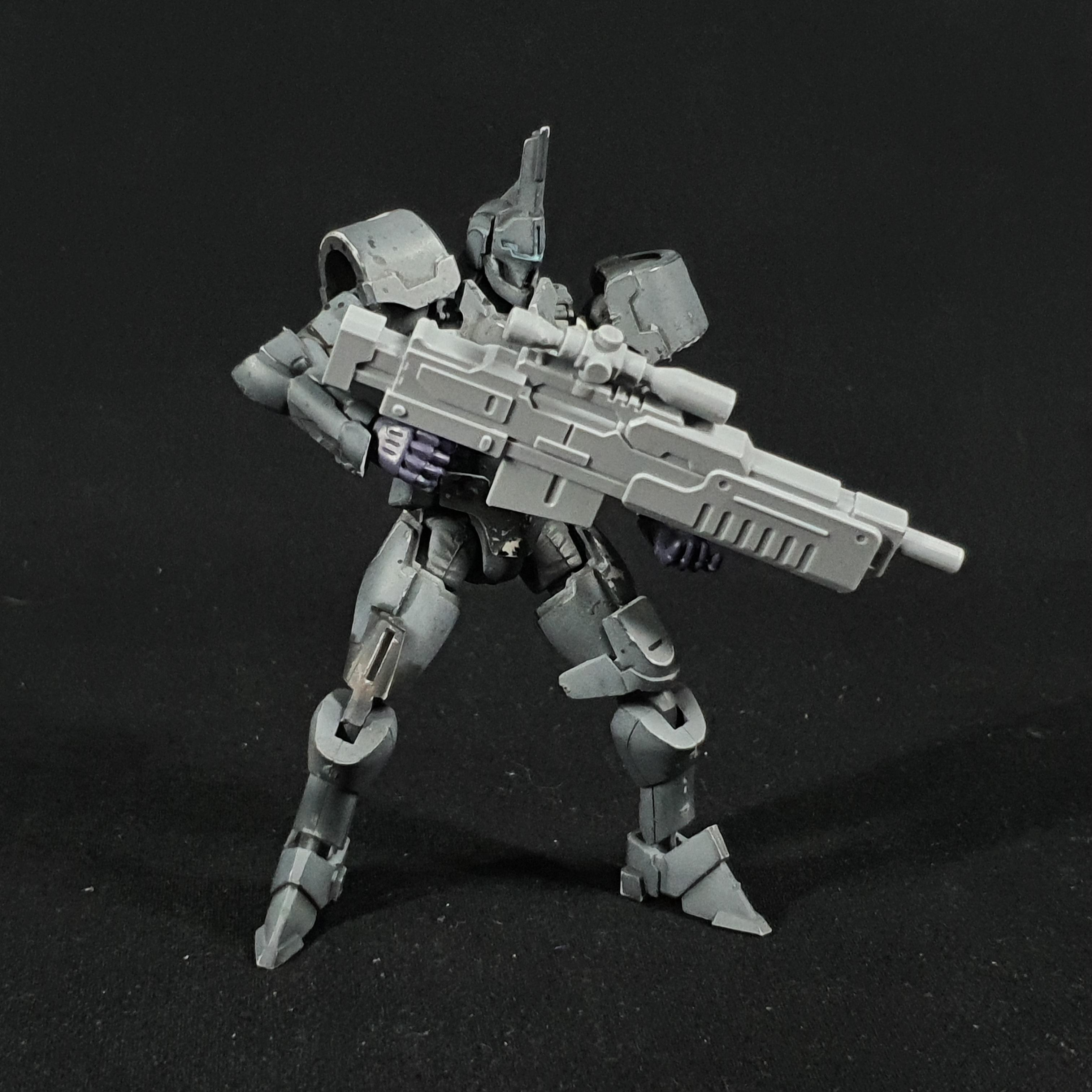 1/24 scale 'JUDICIUM' precision rifle