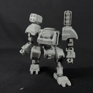 "1/100 scale EISENFRONT ""A.S-06 GAUNTLET"" War-mech resin model kit"