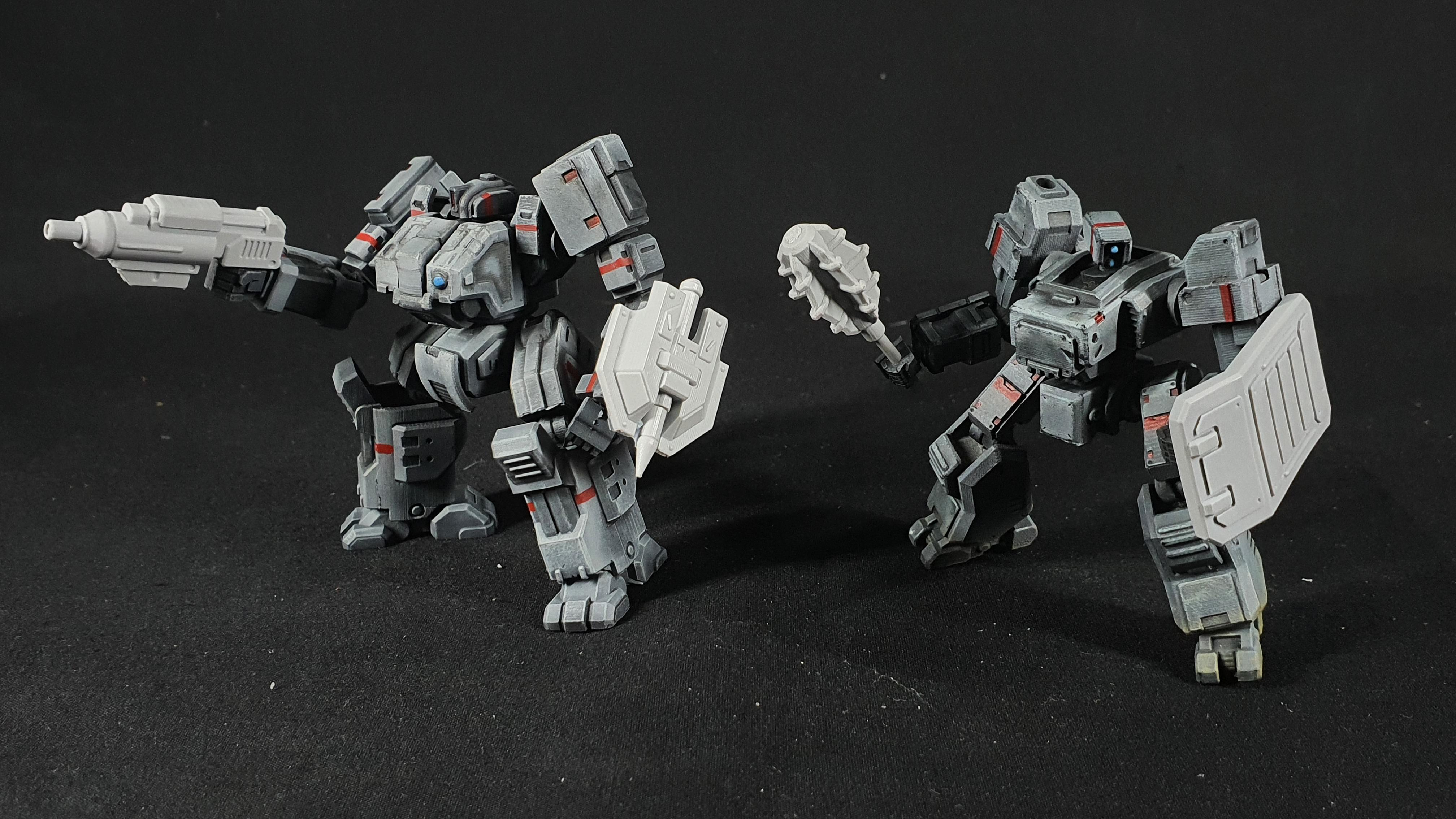 "1/100 scale EISENFRONT  ""WEAPONS PACK A"""