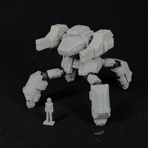 "1/100 scale EISENFRONT ""WOODPECKER"" War-mech resin model kit"
