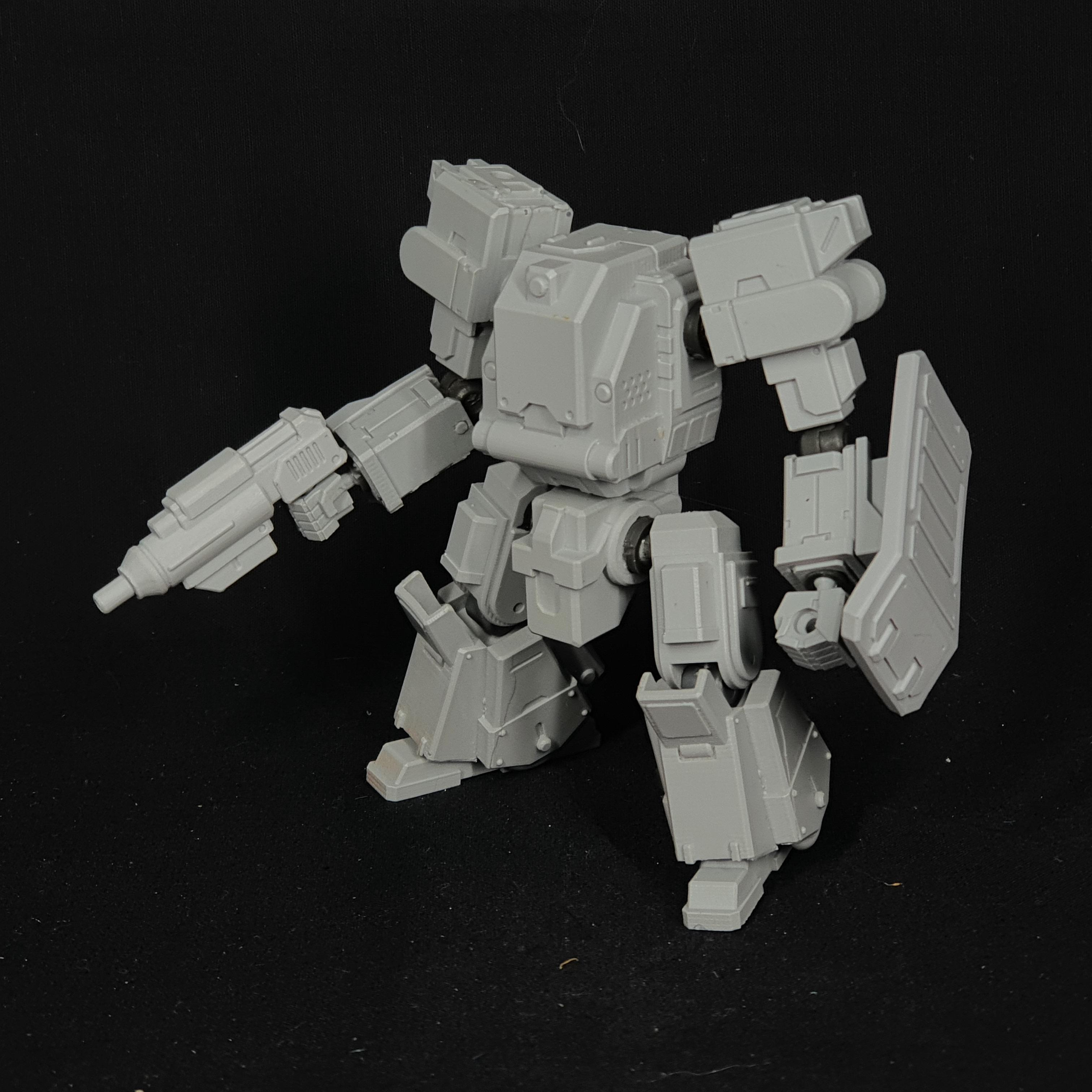 "1/100 scale EISENFRONT ""C.E-BULLALLEN"" War-mech resin model kit"