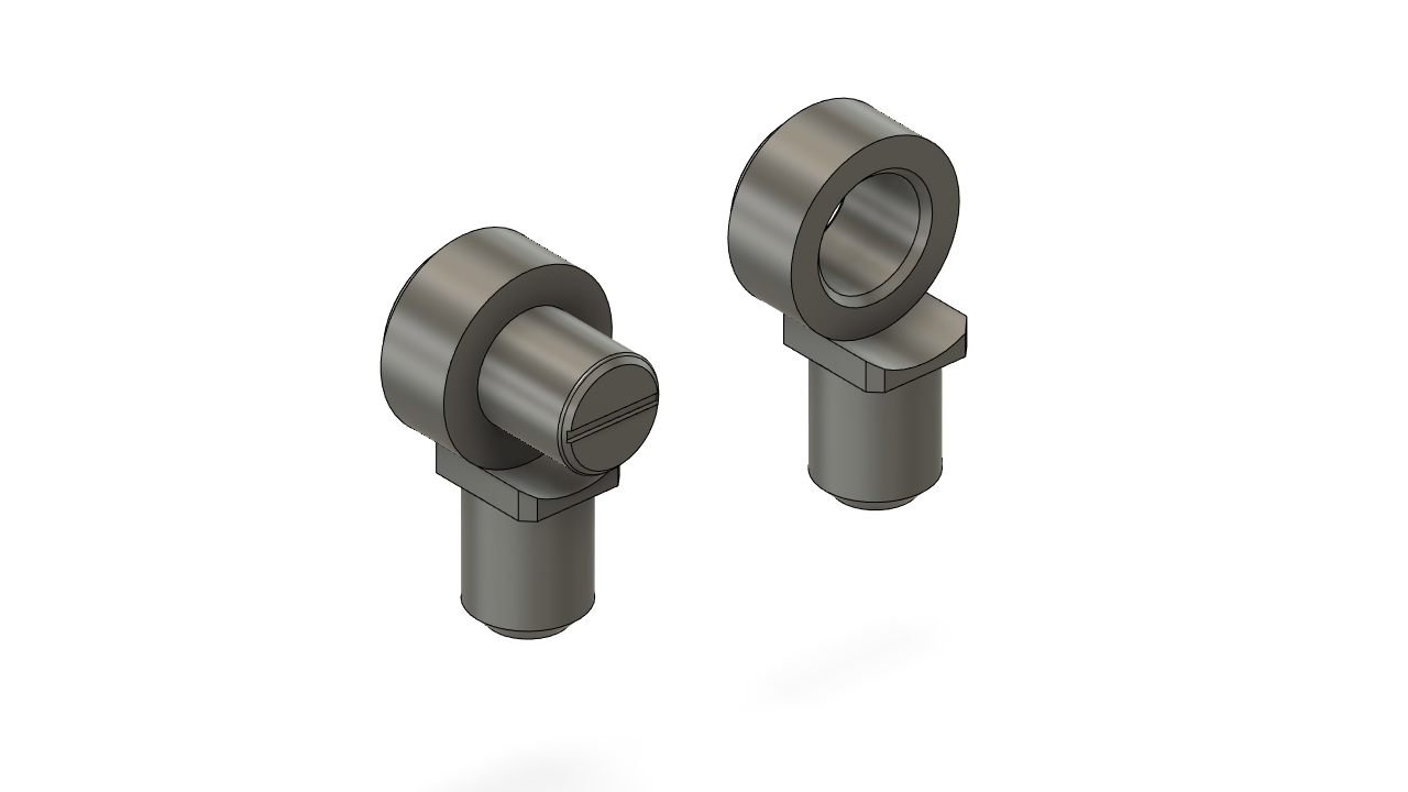 3mm joint connector FREE STL file download