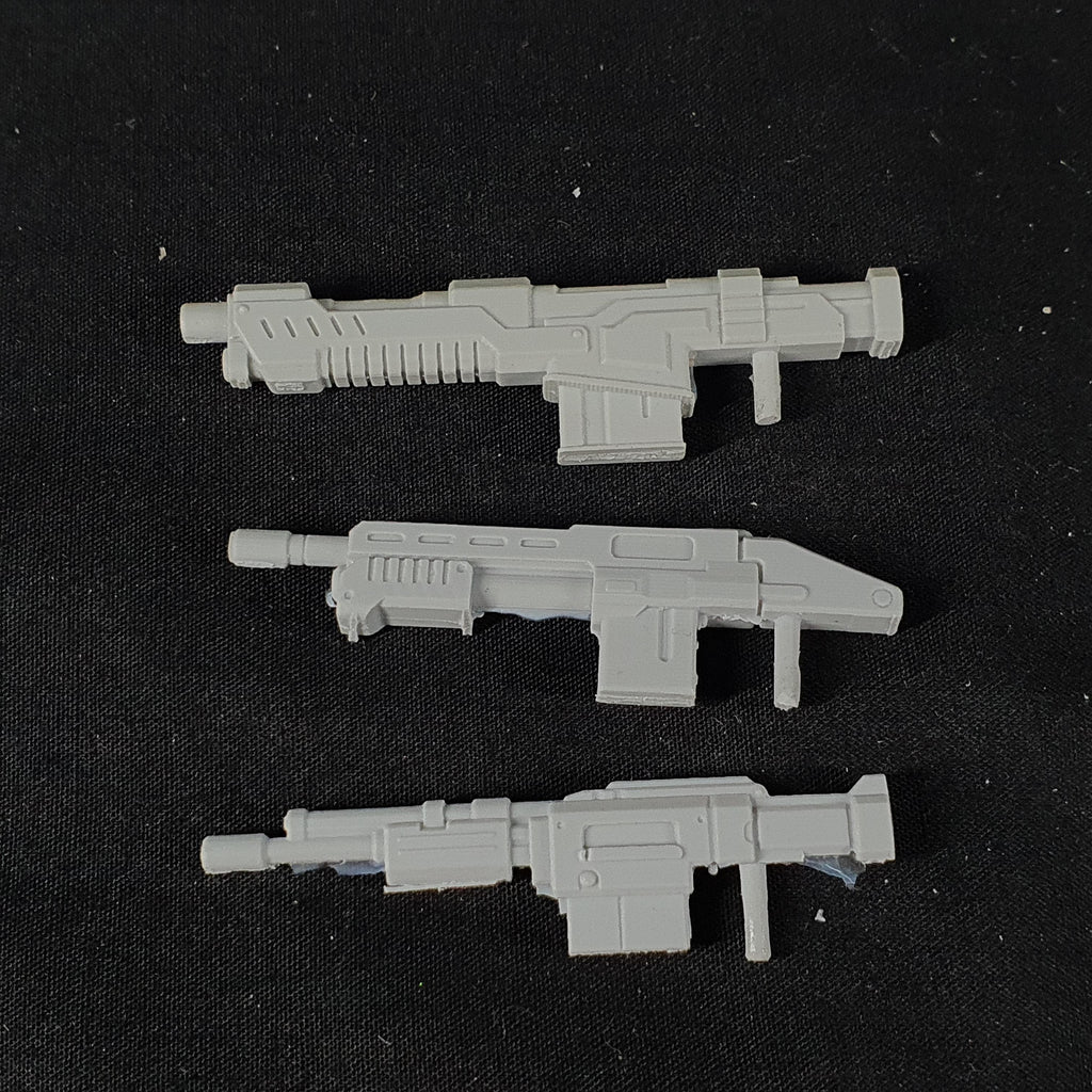 "1/100 scale EISENFRONT  ""WEAPONS PACK B"""