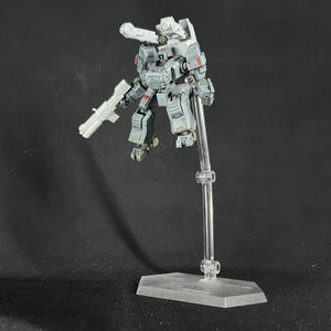 "1/100 scale EISENFRONT, 1/24 scale ""DROPBEAR"" tactical insurgency unit."