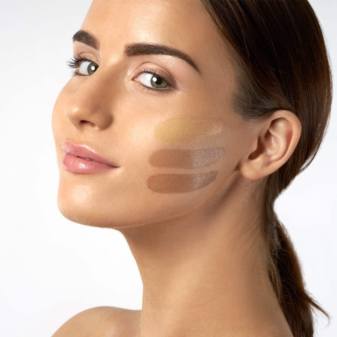 how to apply bb cream, glow time bb cream swatches on face
