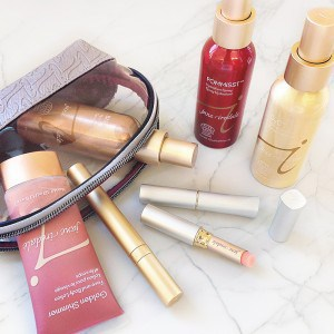 mineral makeup for a weekend getaway