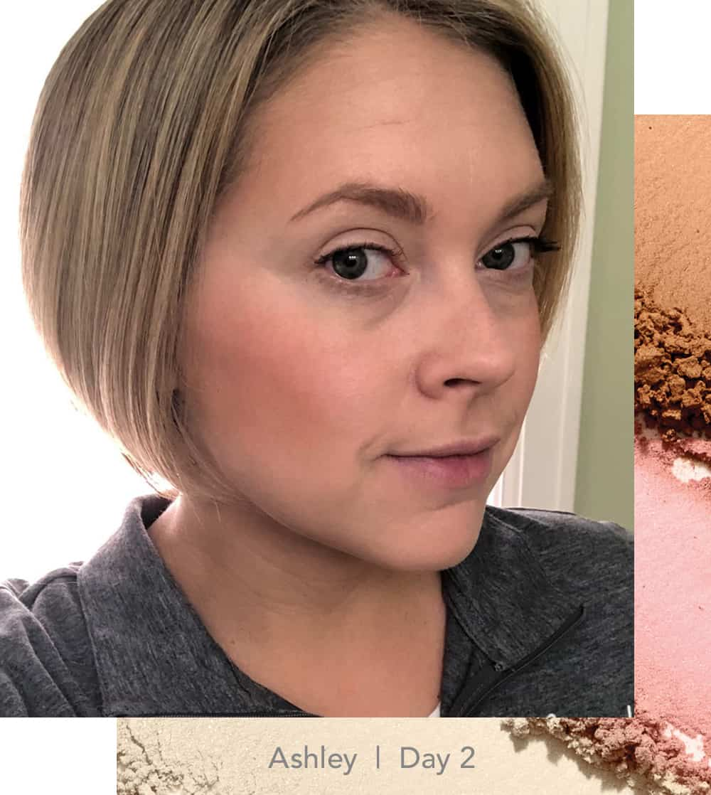 Ashley wearing the Cool GreatShape Contour Kit from jane iredale, Contour Challenge