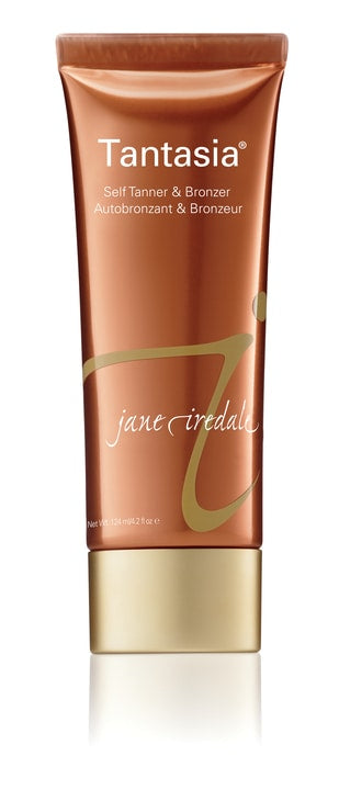 Natural & gradual self-tanner, Tantasia, from jane iredale