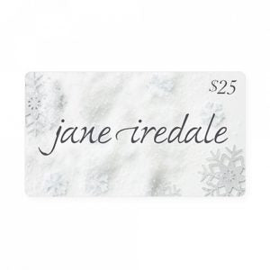 $25 beauty gift card from jane iredale to give as gift to house guests