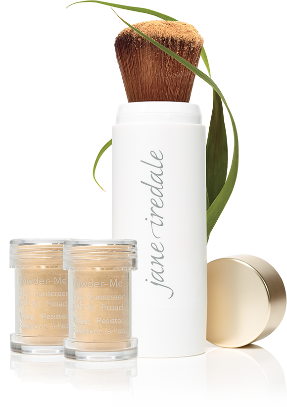 Powder-Me SPF30 dry suncreen product
