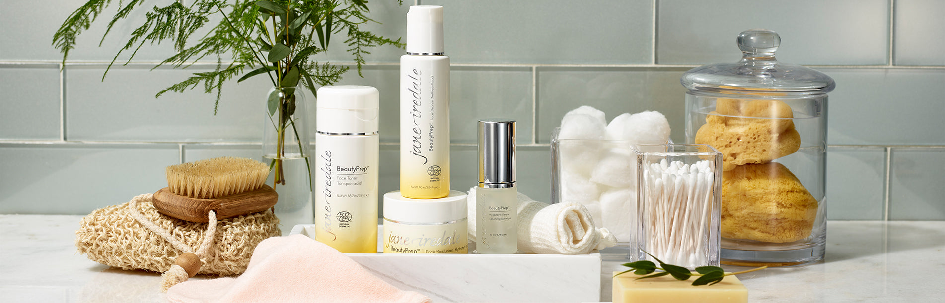 beautyprep skincare system in a bathroom