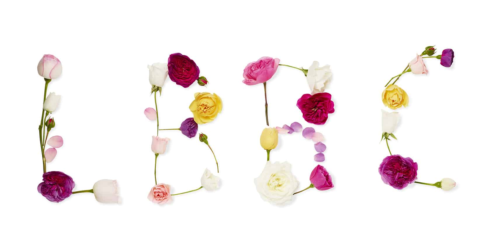 LBBC spelled out in flowers