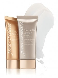 Smooth Affair facial primer and brightener and for oily skin bottles