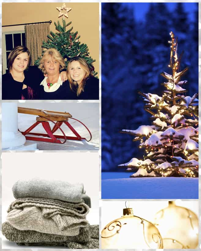 Keri M winter holiday collage