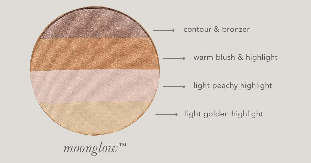 How to Apply Moonglow Bronzer