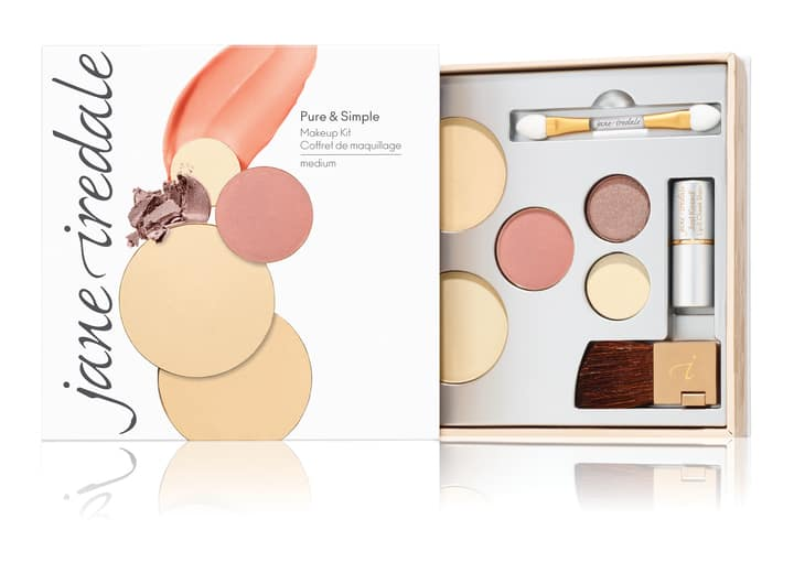 winter makeup collection, Pure & Simple Kit mineral makeup palette