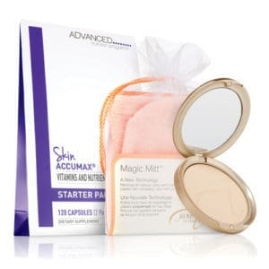 Skin Accumax Starter With MagicMitt With PurePressed Base