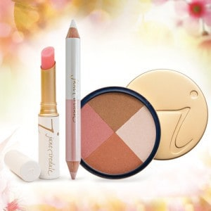 Blushing Bride makeup products in light pink