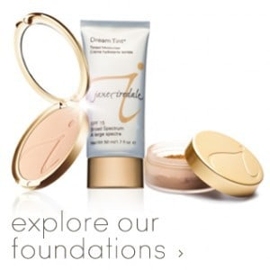 pressed, loose and liquid mineral foundations